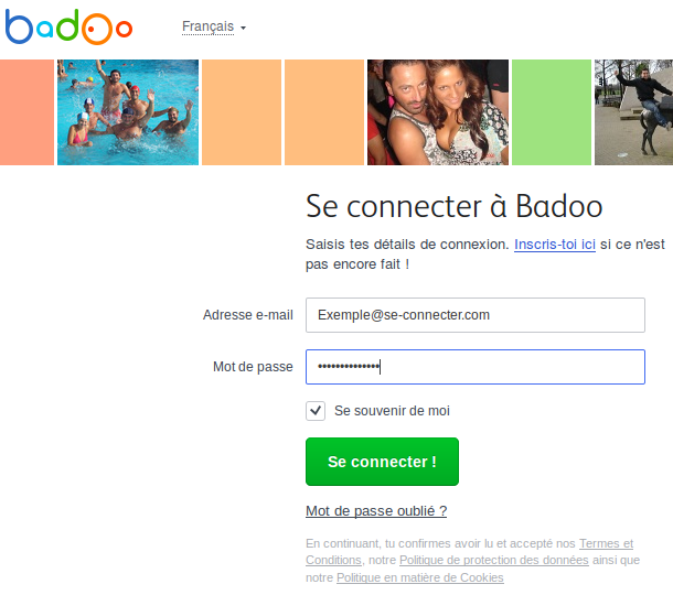 Badoo mobile se connecter