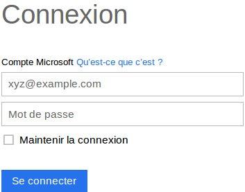 Se Connecter A Mon Compte Microsoft