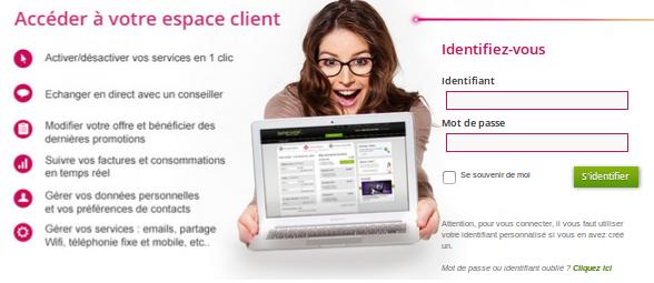 Espace client numericable