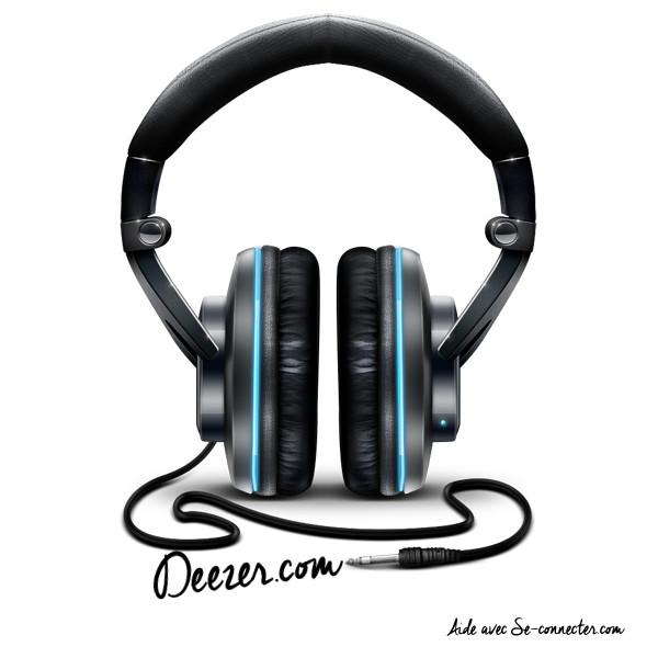 Ecouter de la musique avec Deezer