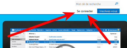 Se connecter à Outlook
