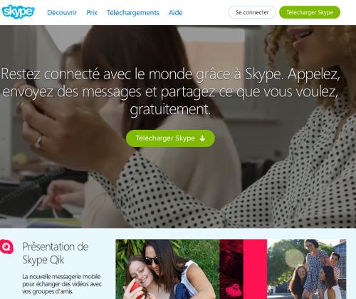skype en français
