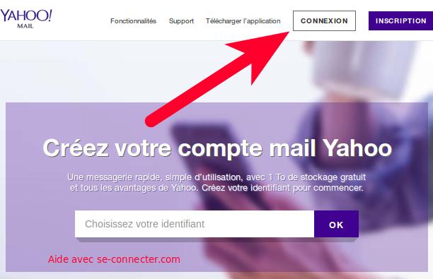 Yahoo Connexion