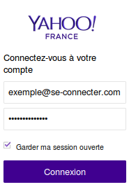 Yahoo Mail France : ouverture de session sur mail.yahoo.fr
